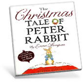 The Christmas Tale of Peter Rabbit book cover