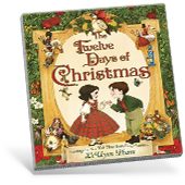 The Twelve Days of Christmas book cover