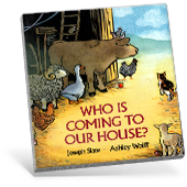 Who Is Coming to Our House? book cover