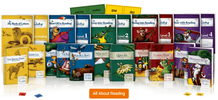 All About Reading Product Line