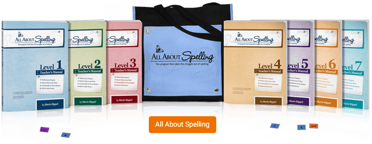 All About Spelling - take the struggle out of spelling