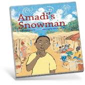 Amadi's Snowman book cover