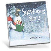 Snowman's Story book cover
