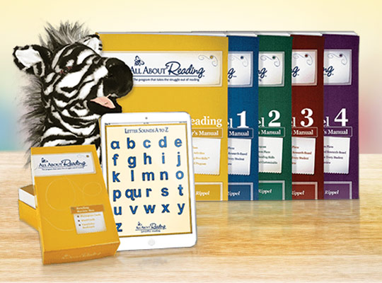 All About Reading Level of Choice - Giveaway from All About Learning Press
