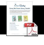 Gooney Bird Greene library checklist