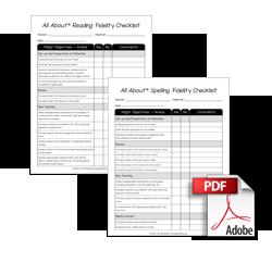 Fidelity Checklist Download