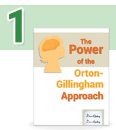 Our programs are based on the Orton-Gillingham approach