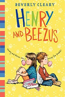 Book cover of Henry and Beezus by Beverly Cleary
