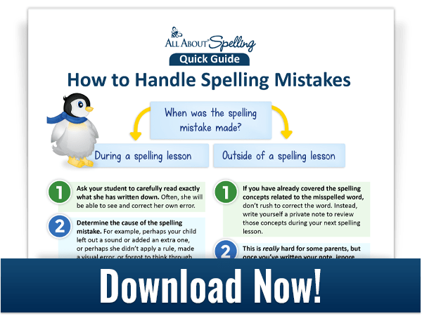 learn how to handle spelling mistakes