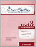 Cover of Level 3 All About Spelling program