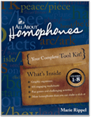 All About Homophones teaching toolkit