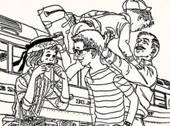illustration from Gone-Away Lake by Elizabeth Enright