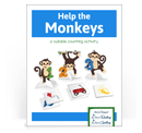 Help the monkeys count syllables in this fun game