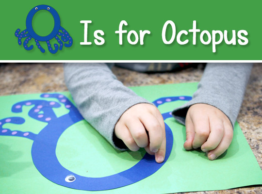 O Is for Octopus title graphic