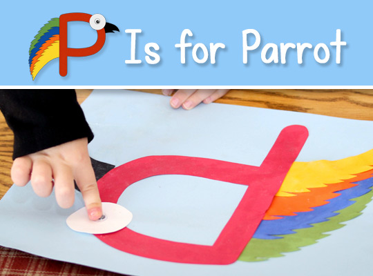 P Is for Parrot title graphic