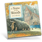 Picture Books Fall A House in the Woods book cover