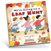 Picture Books Fall We're Going on a Leaf Hunt book cover