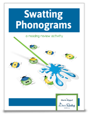 Click to download Swatting Phonograms activity