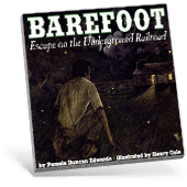 Black History Barefoot book cover