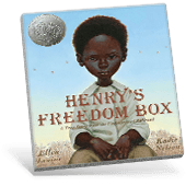 Black History Henry's Freedom Box book cover