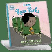 Black History I Am Rosa Parks book cover