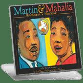 Black History Martin & Mahalia book cover