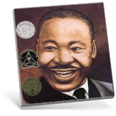 Black History Martin' Big Words book cover