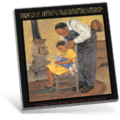 Black History Uncle Jed's Barbershop book cover