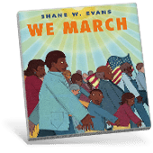 Black History We March book cover