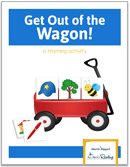 Teach rhyming with Get Out of the Wagon rhyming game