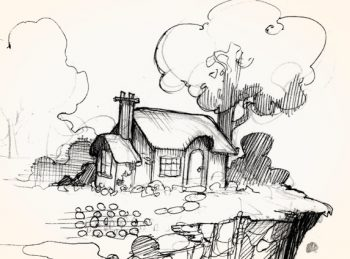 the cottage in the Wingfeather Saga