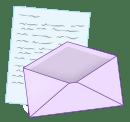 envelop and letter