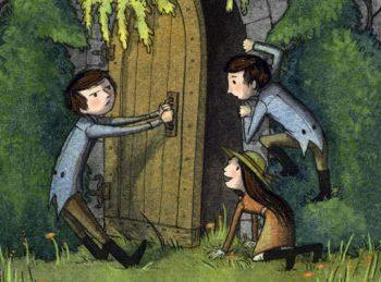 the incorrigible children open a secret door