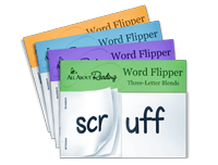 three-letter blend word flippers