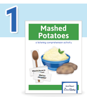 Mashed Potatoes -  a listening comprehension game