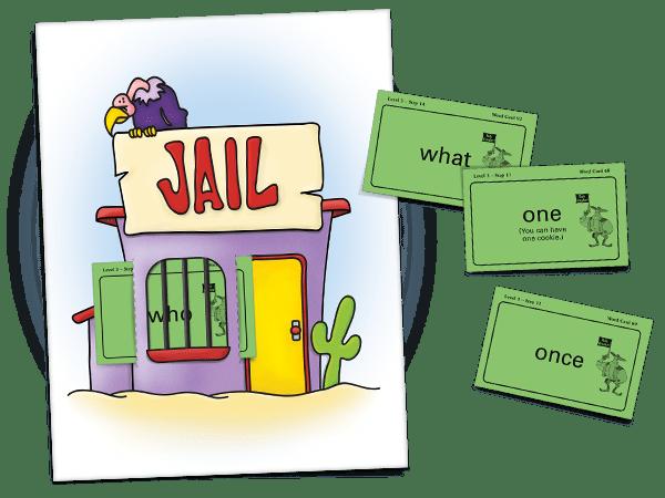 throwing a rule breaker word in jail