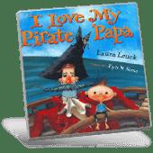I Love My Pirate Papa book cover