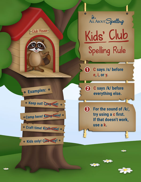The Kids' Club Rule poster graphic