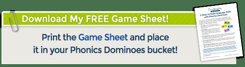 download phonics dominoes game sheet