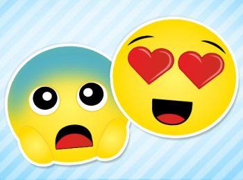 Fun with Emojis two cute emojis