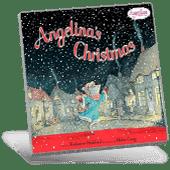 Angelina's Christmas book cover