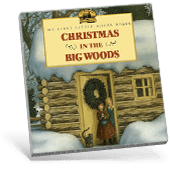 Christmas in the Big Woods book cover