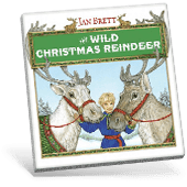 The Wild Christmas Reindeer book cover