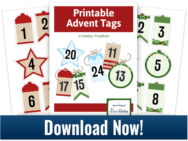 download printable advent tags now