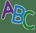 Colorful ABC letters