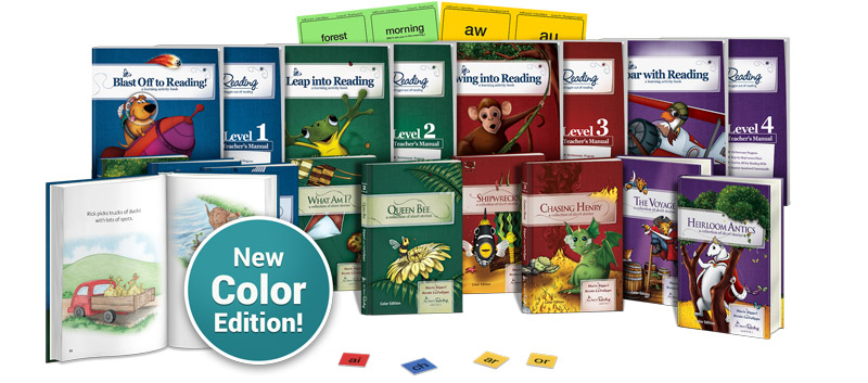 All About Reading 4 levels new color edition