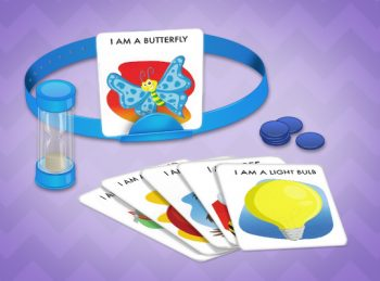 Hedbanz game playing pieces