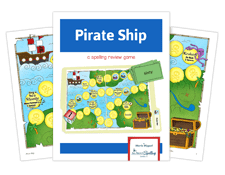 pirate ship activity for spelling success