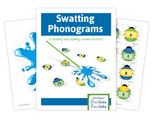 Swatting Phonograms activity for spelling success