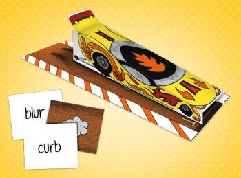 review activity drag race car